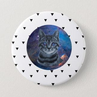 Surreal Cat Runder Button 7,6 Cm