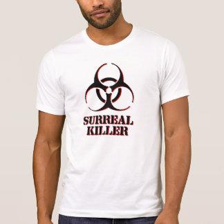 Surreal Mörder-Shirt mit Biogefährdungsymbol T-Shirt