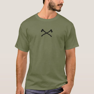 Survival and Bushcraft Shirt with axe