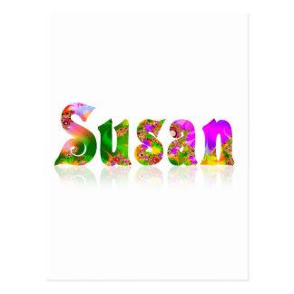 Susan Postkarte