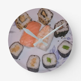 SUSHI ! by Jean-Louis Glineur - Food Runde Wanduhr