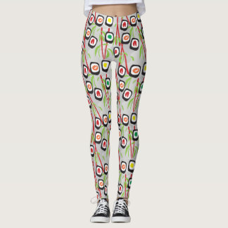 Sushi-Muster Leggings