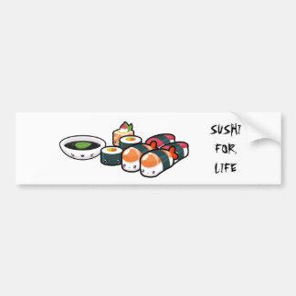 Sushi pour l'adhésif pour pare-chocs de la vie autocollant de voiture