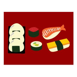 Sushi-Spaß Postkarte
