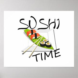 Sushi-Zeit Poster