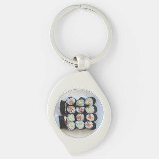 Sushischlüsselkette Schlüsselanhänger