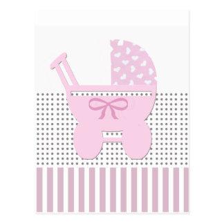 Süße Baby-Duschen-Einladung Postkarte