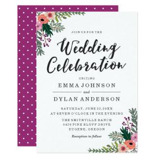 Süße Blumen| Wedding Einladung