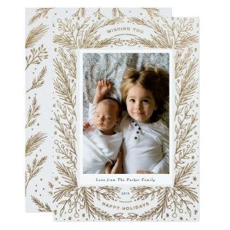 Süße Freude/weißes Gold Karte