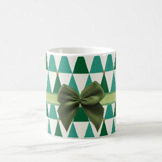 Süße grüne Schein-WeihnachtsTasse Kaffeetasse