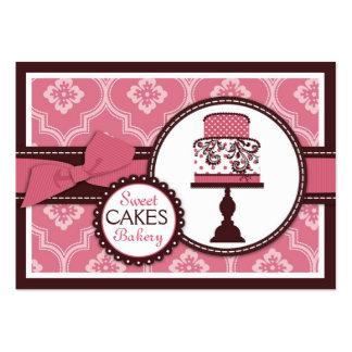 Süße Kuchen-Visitenkarte Jumbo-Visitenkarten