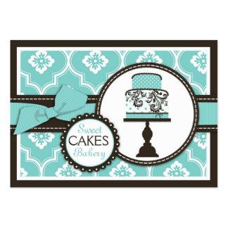 Süße Kuchen-Visitenkarte Turq Jumbo-Visitenkarten
