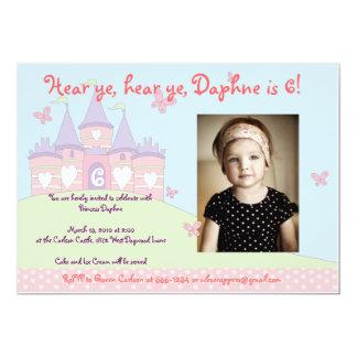 Süße Prinzessin Party Einladung