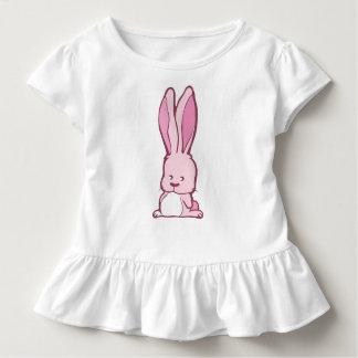 Süße rosa Babyhäschenillustration Kleinkind T-shirt