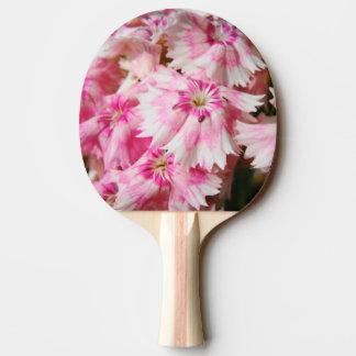 Süße rosa Blumen Williams Tischtennis Schläger