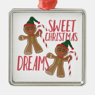 Süße Träume Silbernes Ornament