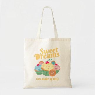 Süße Träume werden… von den kleinen Kuchen und von Budget Stoffbeutel