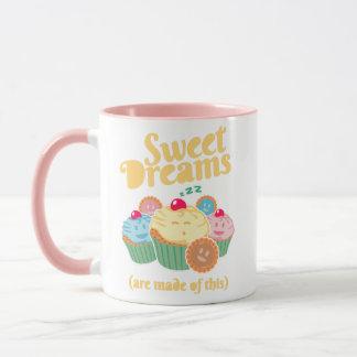 Süße Träume werden… von den kleinen Kuchen und von Tasse