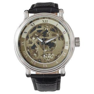 Süße Zufriedenheits-Uhr Armbanduhr
