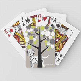 Süßer Dalmation Spielkarten