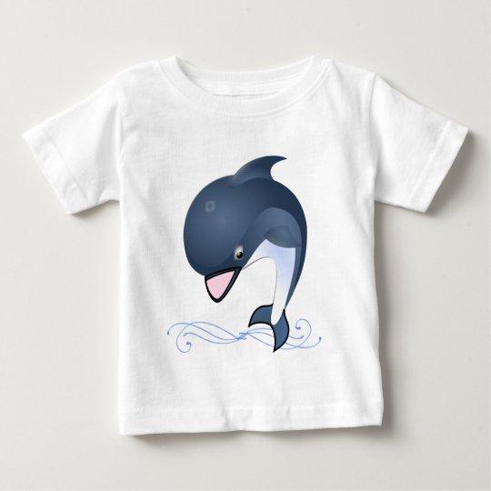 Süßer Delphin 2 Baby T-shirt