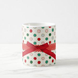 Süßer Schein rote Bibbon WeihnachtsTasse Kaffeetasse