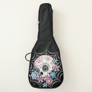 Süßer Zuckerschädel Gitarrentasche