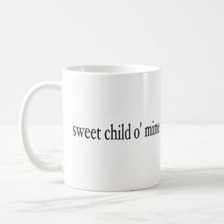 Süßes Bergwerk des Kindo Kaffeetasse