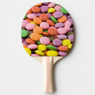 Süßes Bonbon-Klingeln pong Paddel Tischtennis Schläger