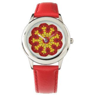 Süßes Diamant-Fraktal Uhr