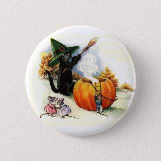 Süßes Halloween-Button Runder Button 5,7 Cm