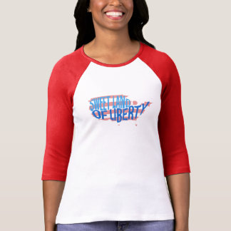 Süßes Land Freiheits-patriotischen Amerika-T - T-Shirt