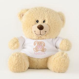 Süßes niedliches Cuddly rosa Teddybär