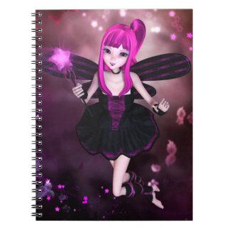 Süßes Starry Wirbels-Notizbuch Spiral Notizblock