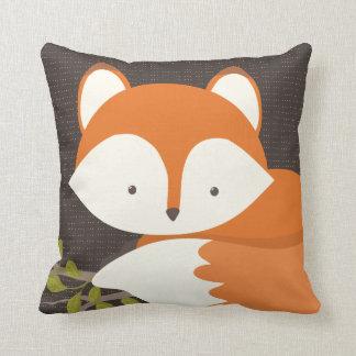 Süßes Waldfox-Baby Pillow gemütlich Kissen