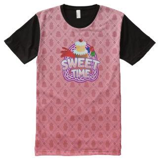 Süßes Zeitrosa aller DruckT - Shirt