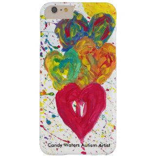 Süßigkeit wässert Autismus-Künstler Barely There iPhone 6 Plus Hülle