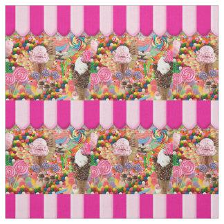 Süßigkeits-16. Geburtstag-Eiscreme Stoff