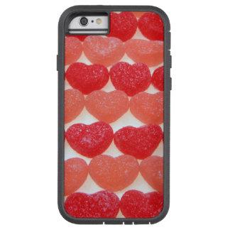 Süßigkeits-Herzen in Folge Tough Xtreme iPhone 6 Hülle