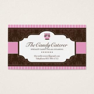Süßigkeits-Lebensmittellieferant-Visitenkarte Visitenkarte