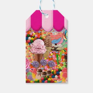 Süßigkeits-super süße Eiscreme lustig Geschenkanhänger