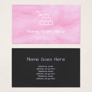 """""""Süßigkeits-"""" Zuhauserenovator-Geschäfts-Karten Visitenkarte"""