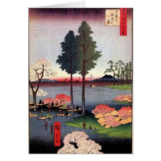 Suwa Täuschung in Nippori (日暮里諏訪の台) Karte