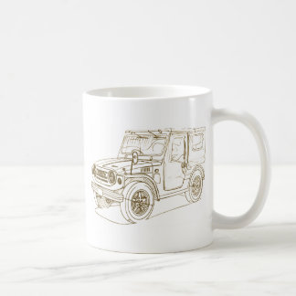 Suz Jimny LJ1 Kaffeetasse