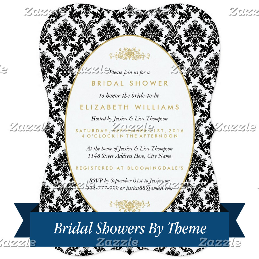 Bridal Showers By Theme
