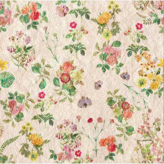 Romantic Pink Vintage Floral Set