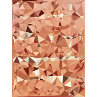 Geometric Pattern   Pink and Peach Triangles