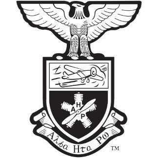 AHP Crest - B&W