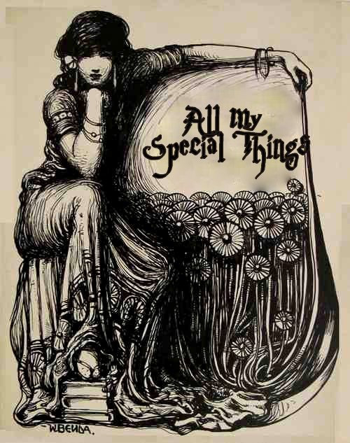 My Special Things - the cabinet of allsorts