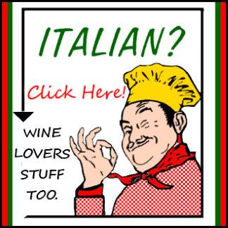 ITALIAN AND WINE